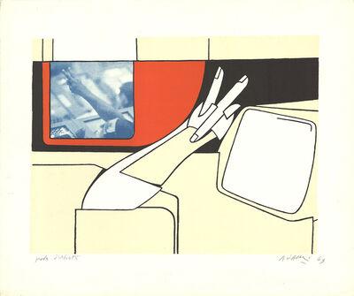 Valerio Adami, 'V for Victory', 1969