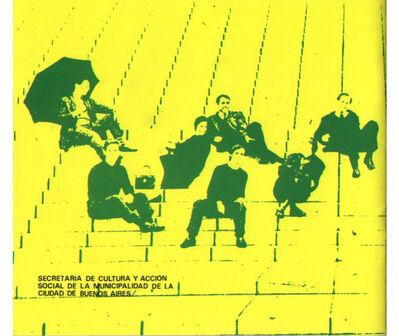 "Juan Pablo Renzi, 'Catálogo de la exposición colectiva""Rosario '67"", Museo de Arte Moderno de Buenos Aires', 1967"