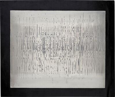 Heinz Mack, 'Licht-Regen-Relief (Light rain relief)', 1958