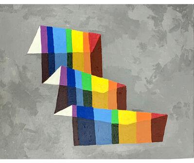 Esvin Alarcón Lam, 'Arco del cielo (estudio)', 2019