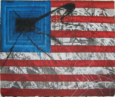 Saber, ' Rebel Flag, 2010', 2010