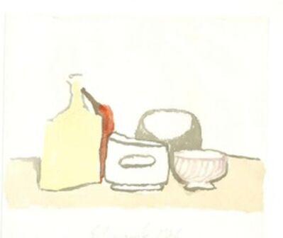 Giorgio Morandi, 'Still Life Composition', 1973