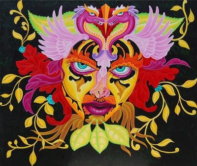 LADY PINK, 'Lady of the Leaf', 2011