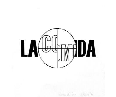 Margarita Paksa, 'La comida II', 1976