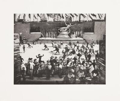 Bill Jacklin, 'Promenade, Rockefeller Skaters', 2012