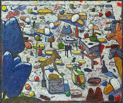 Gaylen Hansen, 'Still Life with Two Blue Tulips'