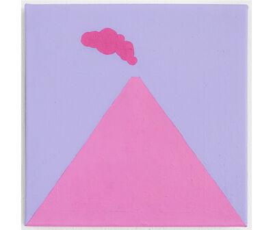 Esvin Alarcón Lam, 'Volcán con cielo lavanda ', 2019