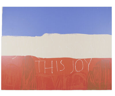 Corita Kent, 'This Joy', 1963