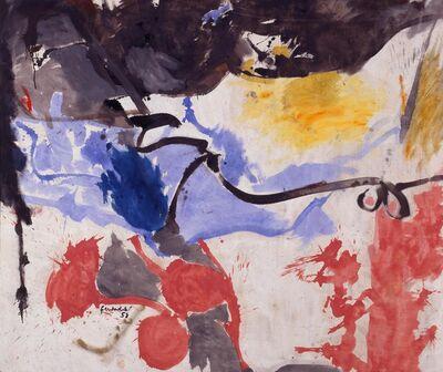 Helen Frankenthaler, 'Hotel Cro-Magnon', 1958