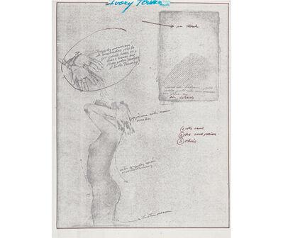 Rafael Hastings, 'Ivory Tower. De la serie Dibujos Mentales', 1967-1978