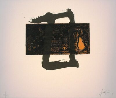 Antoni Tàpies, 'Variacions sobre un rectangle 2', 2001