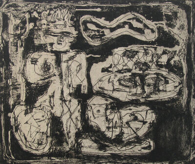 Louise Nevelson, 'The Wild Jungle', ca. 1953