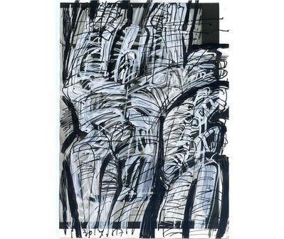 Guillermo Deisler, 'Sin título. De la serie Cuerpos', 1987
