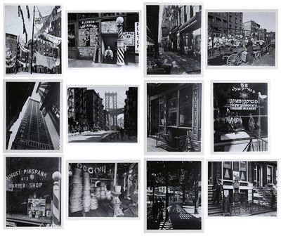 Berenice Abbott, 'New York IV (Portfolio of 12 Photos)', 1979