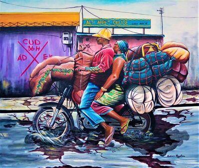 Abdias Ngateu, 'A toute vitesse. ', 2017