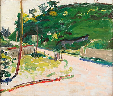 Alfred H. Maurer, 'Untitled (Road)', ca. 1908