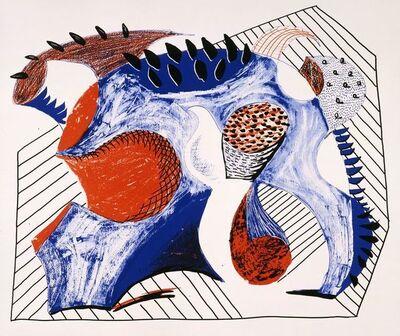 David Hockney, 'Joel Wachs Print', 1993