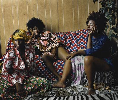 Mickalene Thomas, 'Les Trois Femmes Noires', 2006