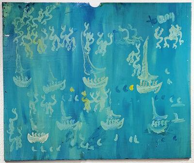 Purvis Young, 'SAILBOATS', ca. 2000