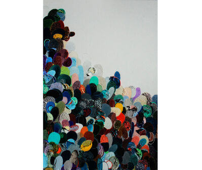 Eduardo Santiere, 'Multitudes y su líder', 2017