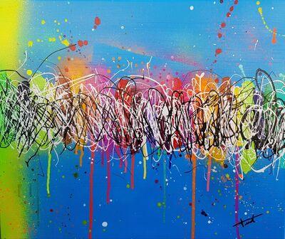 Mary Taffanel, 'Blue Street', 2019