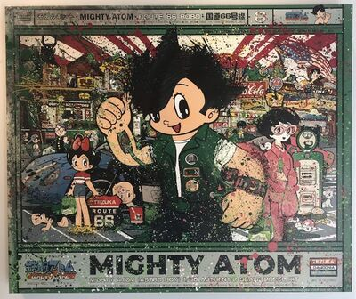 Sean Danconia, 'Astro Boy, Mighty Atom', 2019