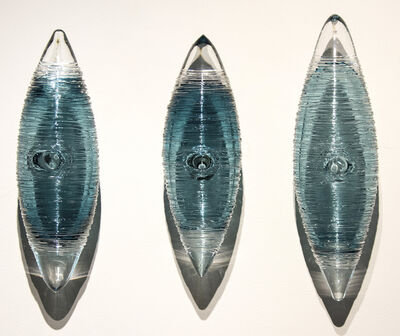 Julia Reimer, 'Cocoon Series, Steel Blue Grouping', 2018
