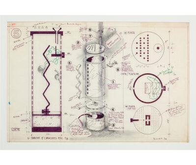 Luis F. Benedit, 'Hábitat para caracoles', 1971
