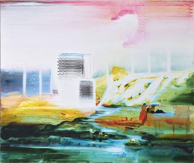 John Kørner, 'Architecture Along a River', 2015