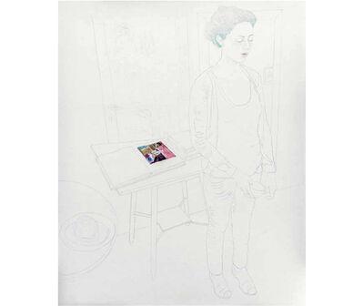 Delia Cancela, 'B en vert', 2012