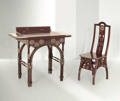 Eugenio Quarti, 'a desk, Italy', ca. 1900