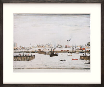 L.S. Lowry, 'The Harbour', 1972