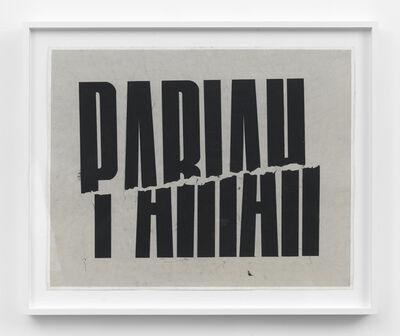 Andrew Brischler, 'Pariah', 2016