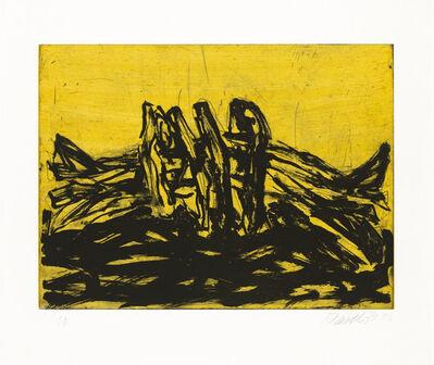 Georg Baselitz, ' Winterschlaf X', 2014