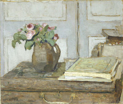Édouard Vuillard, 'The Artist's Paint Box and Moss Roses', 1898