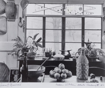 Pedro E. Guerrero, 'Calder Kitchen Details, Roxbury, CT', 1963