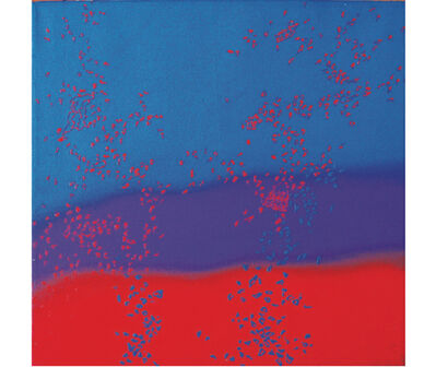 Elda Cerrato, 'Estratos que se van II', 1990