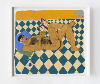 Soufiane Ababri, 'Bedwork / The New Man reading Abû Nawâs', 2020
