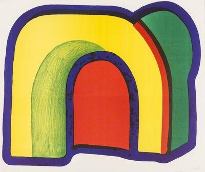 Howard Hodgkin, 'Composition with red (Heenk 10)', 1970