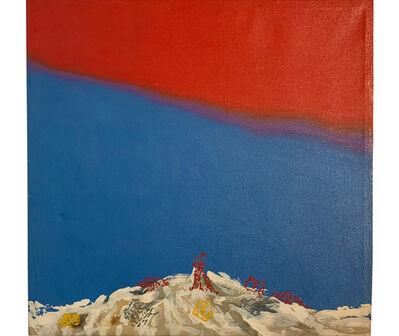 Elda Cerrato, 'Serie Dispersiones. Serie: Un marco para la tierra. Línea de dispersión', 1992-1993