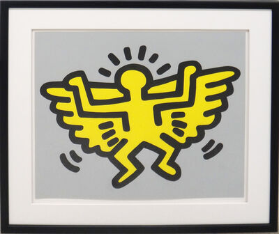 Keith Haring, 'Icons (Angel)', 1990