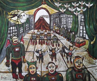 Heri Dono, 'Art Installations Escape from Volcano Eruption', 2018