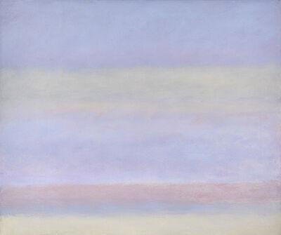 Jon Schueler, 'Mood with Magda: Blues and Greys', 1974