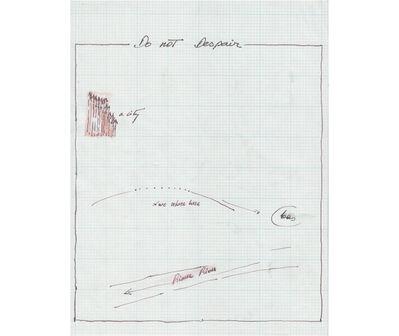 Rafael Hastings, 'Do not Despair. De la serie Dibujos Mentales', 1967-1978