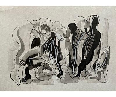Fernando Coco Bedoya, 'El coleccionista. Buenos Aires', 1990