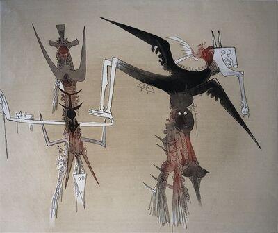Wifredo Lam, 'Lames de Lam 4', 1977