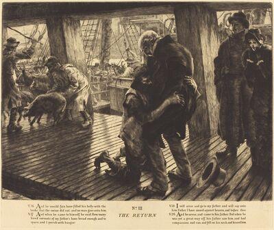 James Jacques-Joseph Tissot, 'The Return', 1882