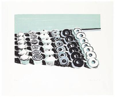 Wayne Thiebaud, 'Cupcakes and Donuts', 2006