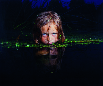 "Oleg Kulik, 'Girl in the Swamp, From the ""Fear"" series'"