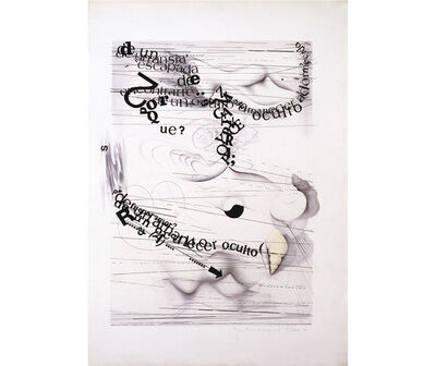 Margarita Paksa, 'Inventario de imágenes I', 1980